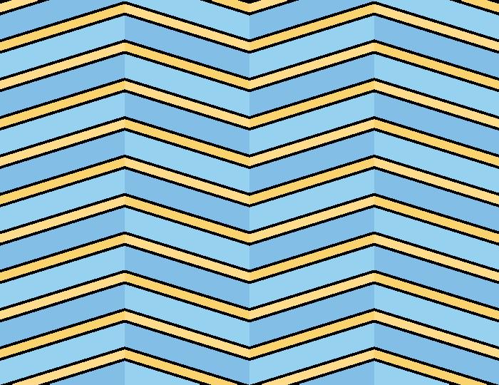 幾何学模様のテクスチャー/パターン/水色/黄色のイラスト