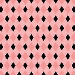 幾何学模様のテクスチャー/パターン/ピンク色系のイラスト