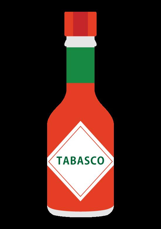 タバスコのイラスト