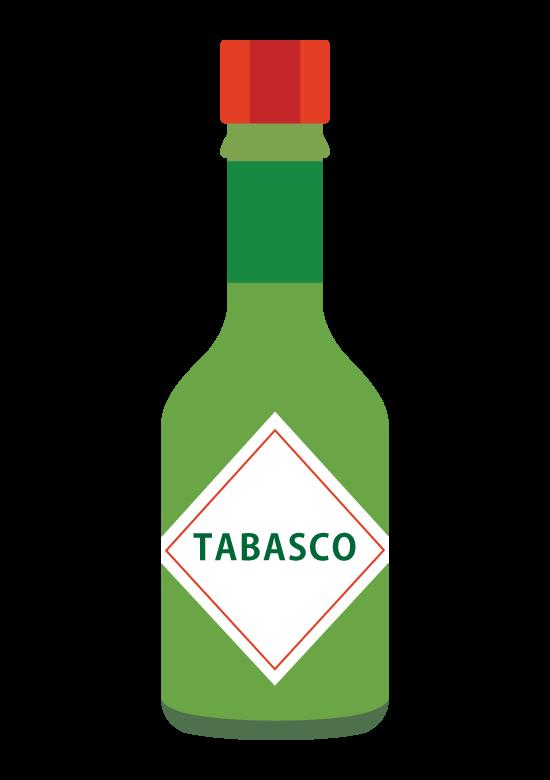 タバスコ/ハラペーニョソースのイラスト