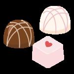 チョコレート/バレンタインチョコのイラスト02