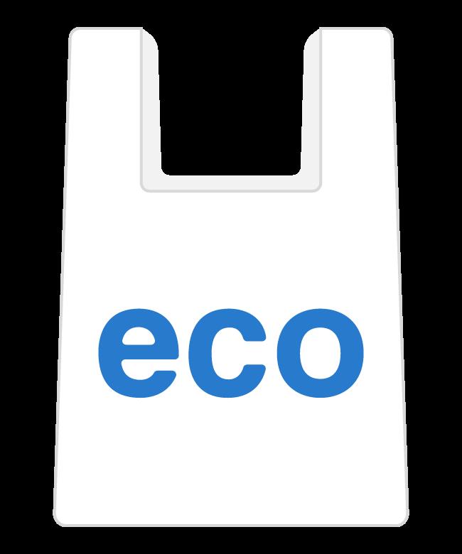 レジ袋/ビニール袋のイラスト02