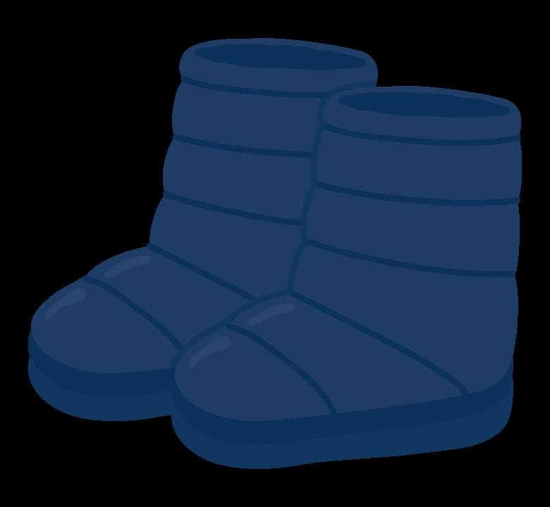 スノーブーツ/冬用ブーツのイラスト