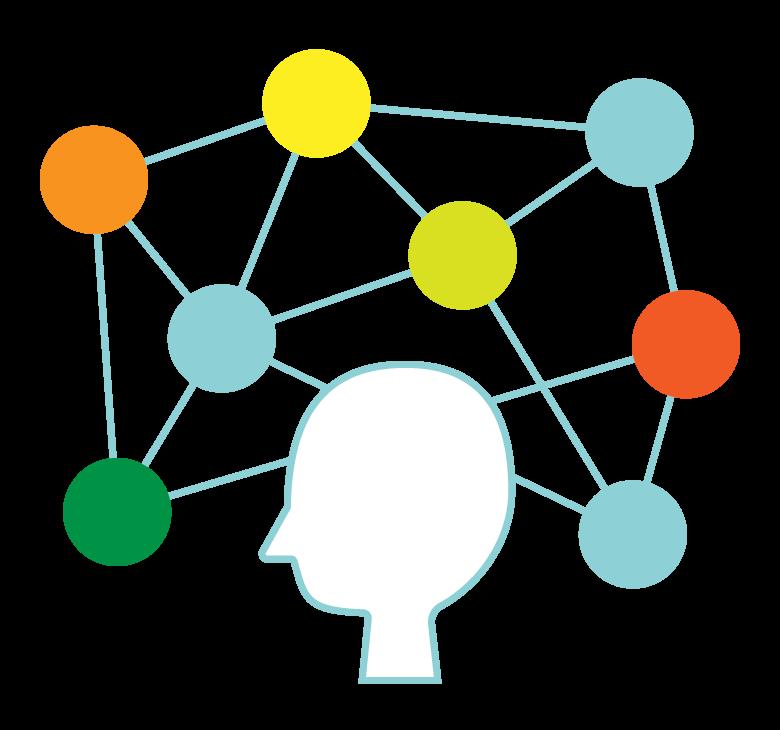 AI/人工知能/ネットワークのイメージイラスト