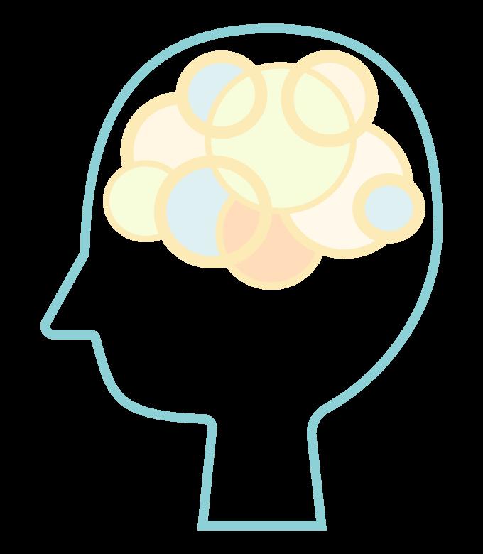 頭脳/AI/人工知能のイメージイラスト