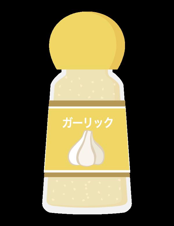 ガーリックパウダー/調味料のイラスト