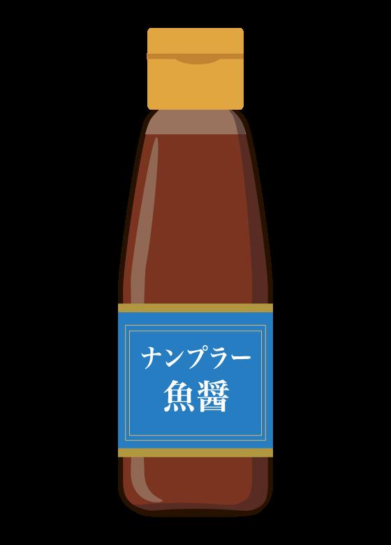 ナンプラー/魚醤のイラスト