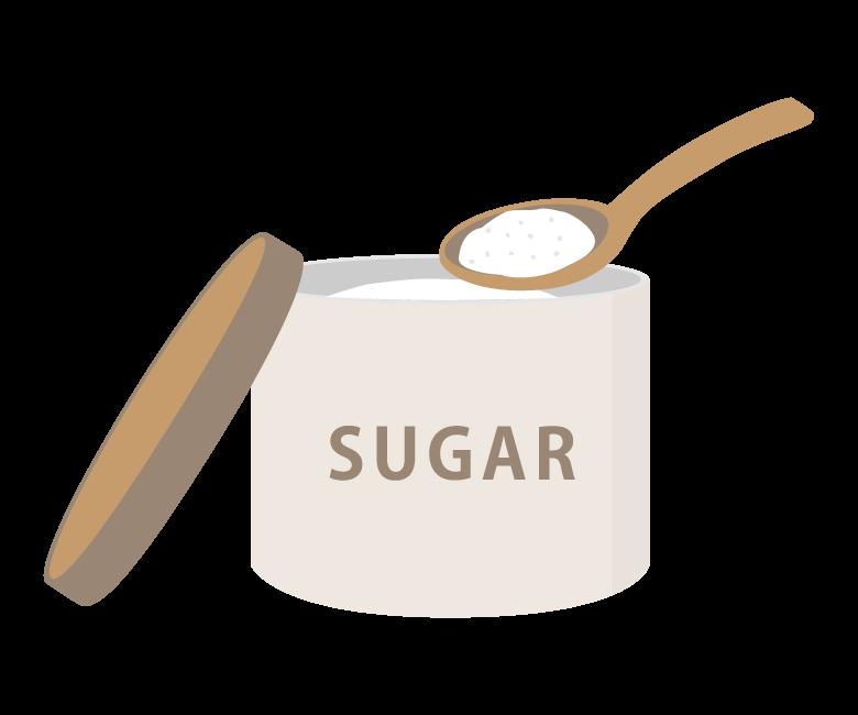お砂糖/シュガーのイラスト