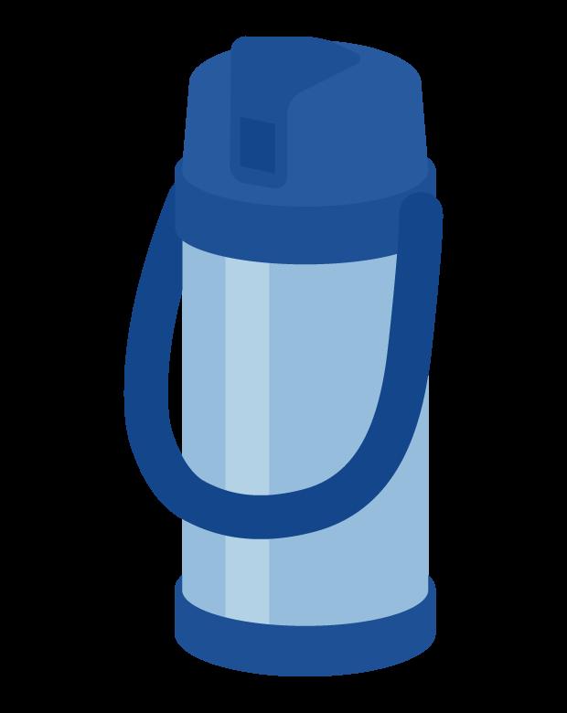大きな水筒のイラスト02