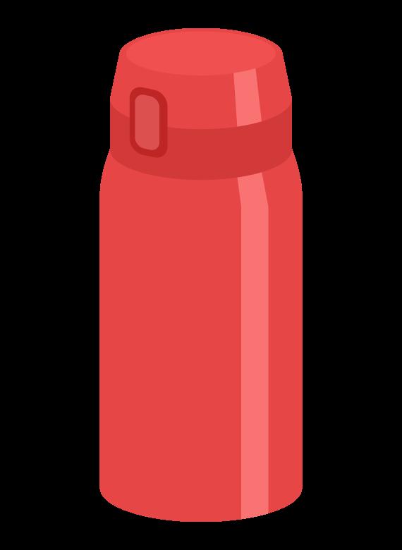 水筒/マイボトルのイラスト