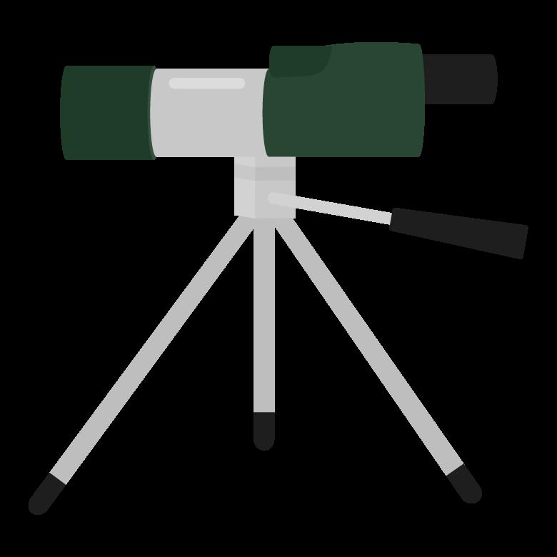 フィールドスコープのイラスト02