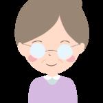 笑顔のおばあちゃんのイラスト04