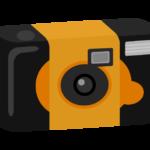 使い捨てカメラのイラスト02