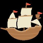 帆船のイラスト03