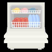 食洗器のイラスト