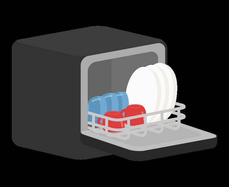 食洗器のイラスト02