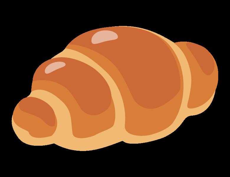 バターロール/ロールパンのイラスト