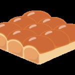 ちぎりパンのイラスト