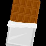 板チョコのイラスト02