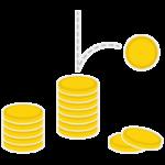 コイン/仮想通貨のイメージイラスト