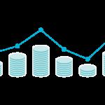 お金/金融のチャートのイラスト