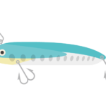 釣りのルアーのイラスト
