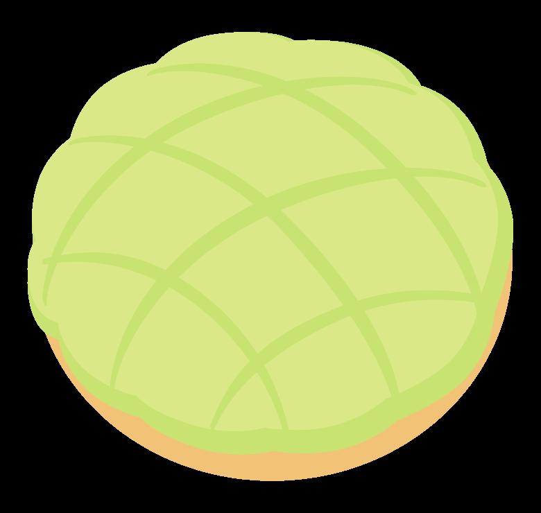 メロンパンのイラスト02