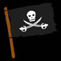 海賊旗のイラスト