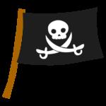 海賊旗のイラスト02
