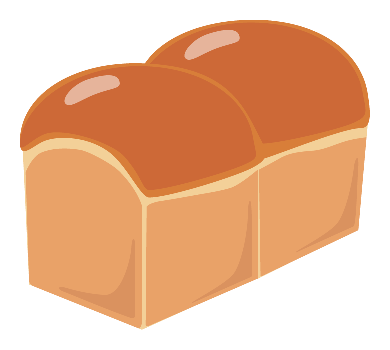 食パンのイラスト02