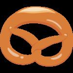 プレッツェル/菓子パンのイラスト