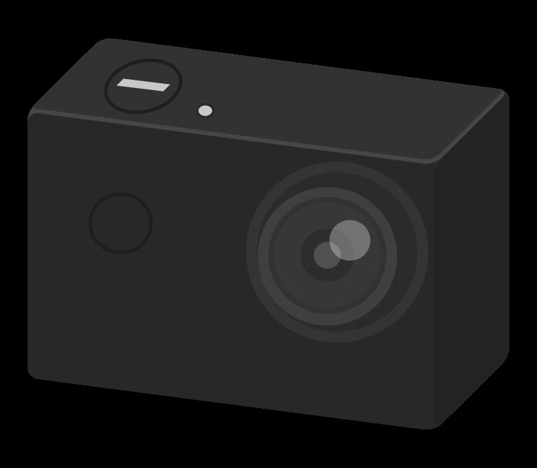 アクションカメラのイラスト02