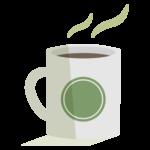 ホットコーヒー/カフェのイラスト02