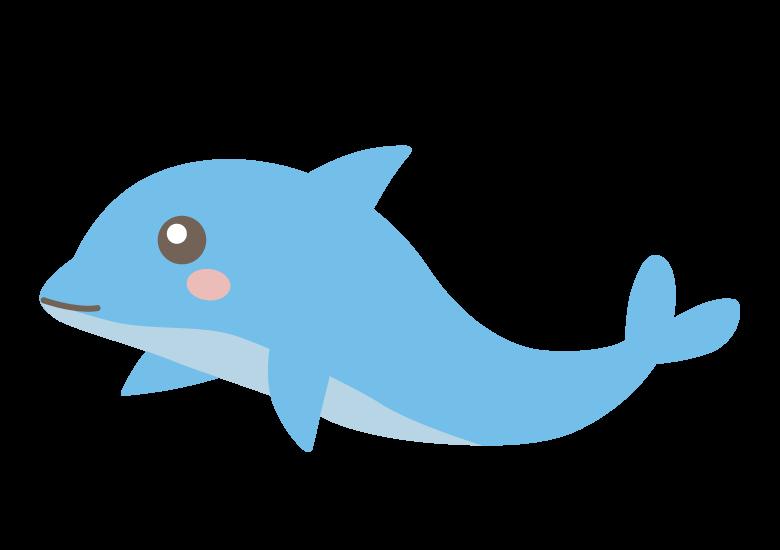 かわいいイルカのイラスト03