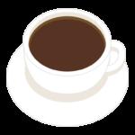 ホットコーヒー/カフェのイラスト03