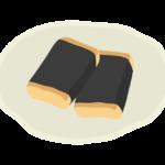 磯辺餅のイラスト