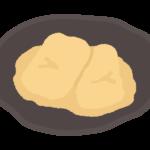 きなこ餅/あべかわ餅のイラスト
