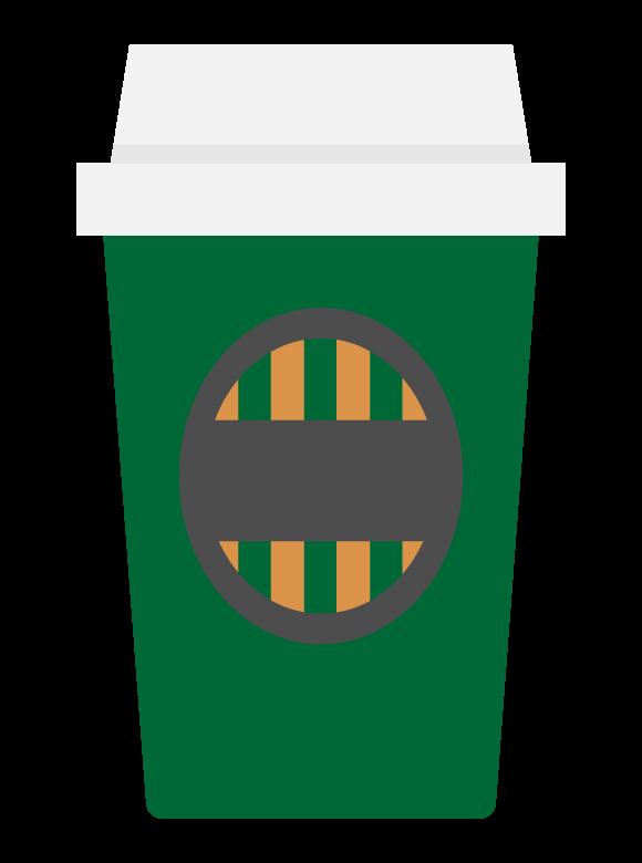 ホットコーヒー/テイクアウトのイラスト
