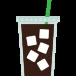 アイスコーヒー/テイクアウトのイラスト