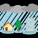 大雨/豪雨のイラスト