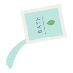 入浴剤(粉)のイラスト