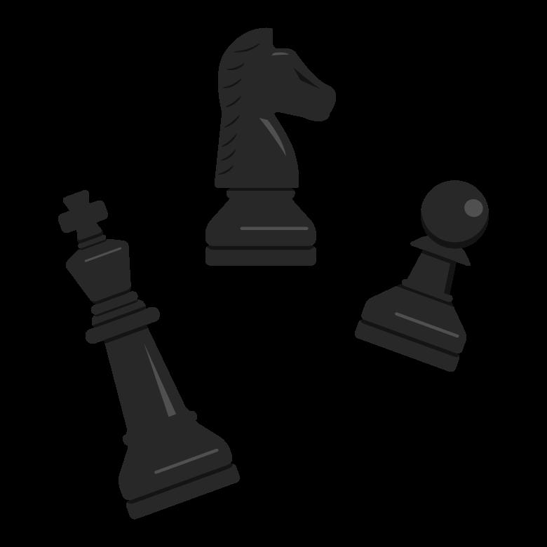 チェスの駒のイラスト