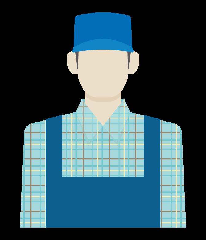 農家/ファーマーのイラスト