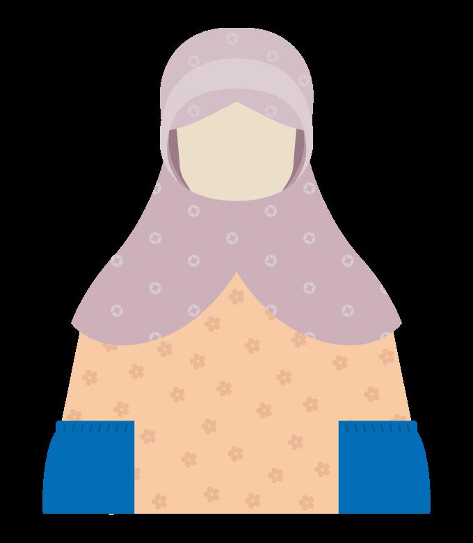 女性の農家/ファーマーのイラスト