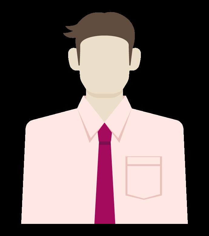 会社員/ビジネスマン/サラリーマンのイラスト