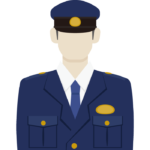 警察官/ポリスのイラスト