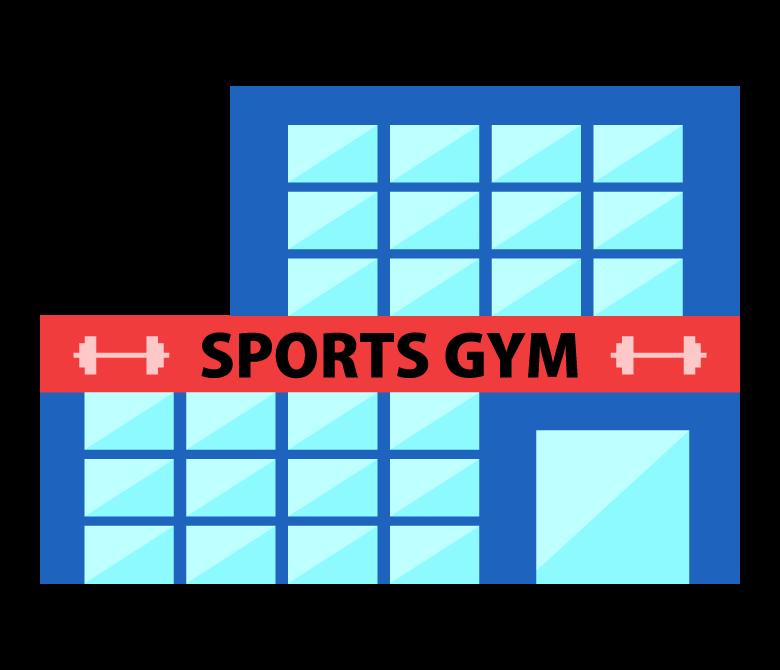 スポーツジムのイラスト02