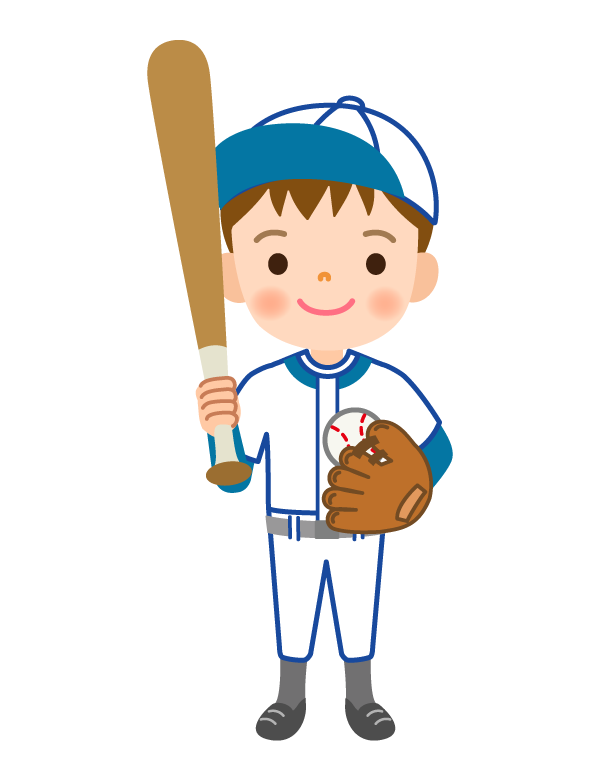 野球/男の子のイラスト