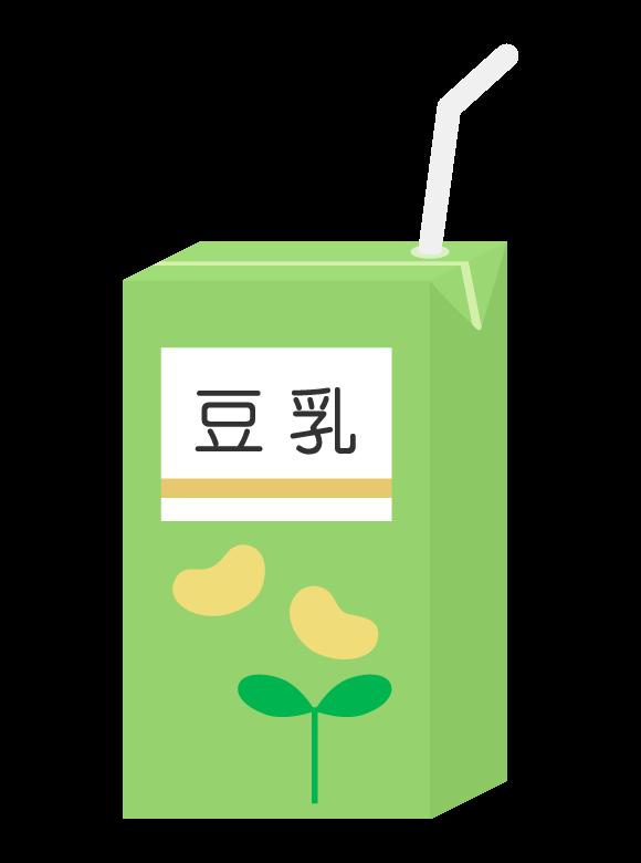 パックの豆乳のイラスト