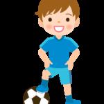 サッカー/男の子のイラスト